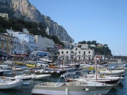 Photo of Rome 3-Day Italy Trip: Naples, Pompeii, Sorrento and Capri CAPRI HARBOUR (2)