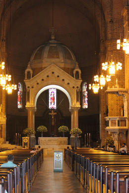 Inside the Metropolitan Cathedral in Medellin., Bandit - September 2012