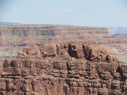 Photo of Las Vegas Grand Canyon West Rim Day Trip by Coach, Helicopter and Boat with Optional Skywalk dogie style