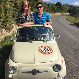 Photo of Florence Self-Drive Vintage Fiat 500 Tour from Florence: Tuscan Wine Experience Fiat Tour