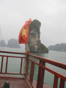 Flag and karst - May 2010