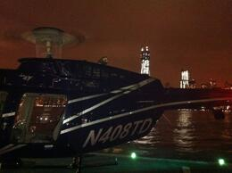 Photo of New York City Viator VIP: NYC Night Helicopter Flight and Statue of Liberty Cruise Heli