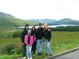 Family Nagy visiting the Scottish Highlands., Zoltan N - August 2010