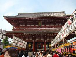 I TOOK THIS PICTURE DURING OUR VISIT TO THE SENSO-JI TEMPLE (ASAKUSA KANNON), VLADIMIR S - May 2010