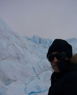 Me on Perito Moreno Glacier, kellythepea - October 2010