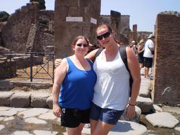 It was about 105 degrees Fahrenheit day and there really is no shade in Pompeii., Samantha R - August 2010