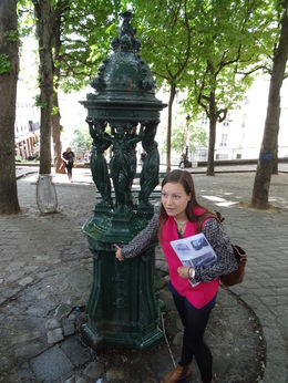 Our wonderful guide Louise, on the Montmarte Impressionist Art Walking tour , Randall M - June 2015