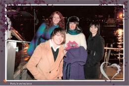 We spent a fabulous night with a brother and sister from Australia. We had a great dinner together, then the photographer grabbed us as we got on the boat. The young man had to run up the stairs to ... , Sarah H - March 2010