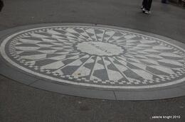Strawberry Fields in Central Park - March 2010