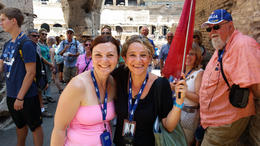 Photo of Rome Ancient Rome and Colosseum Tour: Underground Chambers, Arena and Upper Tier Suzanna - Our Tour Guide