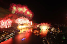 Sydney New Year's Eve - August 2013