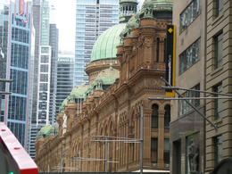 The view of Queen Victoria Building from the bus , Joseph G - September 2013