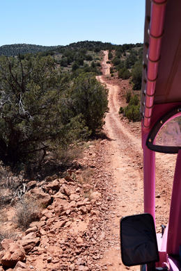 Photo of Sedona & Flagstaff Diamondback Gulch Jeep Tour The road to be taken