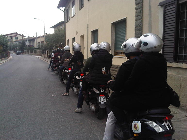Vespa ride in Chianti - Florence