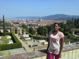 Photo of Florence Florence Vespa Tour: Tuscan Hills and Italian Cuisine Vespa tour -view from San Miniato