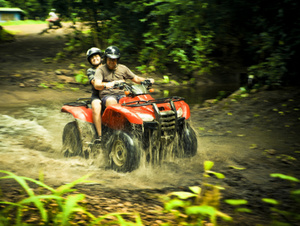 ATV Rainforest Exploration