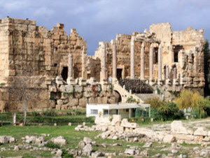 Ancient Ruins at Baalbek