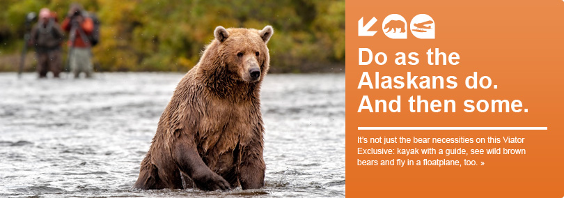 Do as Alaskans Do - kayak, fly and see bears!