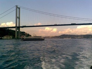 Sunset on the Bosphorus