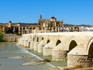 Roman Bridge and Mezquita of Cordoba