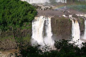See Iguacu Falls from Argentina and Paraguay