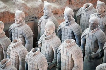 Seeing the Terracotta Warriors in China