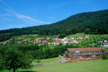 Baiersbronn in the Black Forest