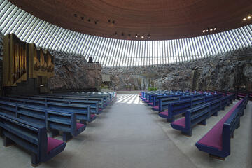 Rock Church (Temppeliaukio Kirkko)