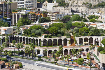 Fontvieille Park and Princess Grace Memorial Rose Garden