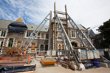 Visiting Christchurch's Earthquake Recovery