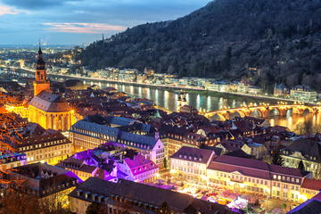 Christmas along the Rhine River