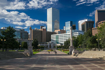 Civic Center Park, Colorado