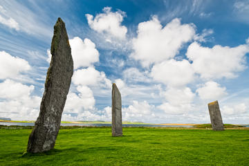 Standing Stones of Stenness , Scottish Highlands
