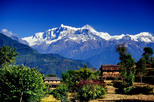 Annapurna Panorama Poon Hill trek from Pokhara short and easy hike in Himalayas