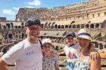 Private Colosseum & Roman Forum Tour for Kids & Families w hotel pickup in Rome