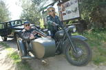 Vintage sidecar motocykle trips & visit Warsaw in a new way, unique attraction!