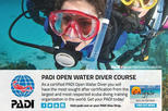 PADI Open Water Diver Course (3 days)