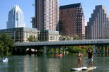 Austin Paddle Board Tour & Urban Bats