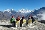 Breakfast at Everest by chartered helicopter: