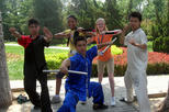 Small Group Chinese Kung Fu Class plus Calligraphy Learning in Beijing