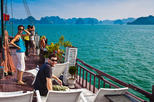 Private Tour: Halong Bay day trip with Lunch Cruise Transportation Caving Artisan glass making and more