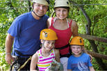 Best of Roatan Zip Line adventure plus Island tour