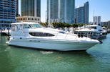50' Sea Ray Charter with Captain and Mate