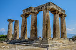 1 Day Tour to Corinth, Cave of Lakes at Kalavrita & a Journey by Cog Railway
