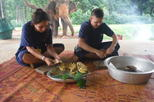 Elephant s day care at baanchang elephant park in chiang mai in chiang mai 360392
