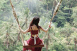 Bali Swing Tegalalang, Monkey Forest and Volcano Day Tours