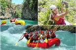 3 in 1 Rafting with Canyoning and Ziplining