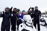 Yellowstone old faithful snowmobile tour in jackson 418572