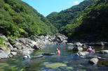 Stream climbing experience in yakushima in kumage district 326542