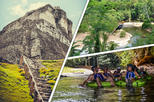 Xunantunich, Cave Tubing and Zipline tour from Belize City
